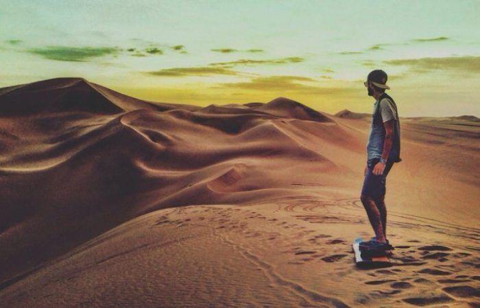 Sandboarding en Huacachina
